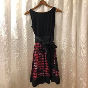 Special Occasion Fit and Flare Dress